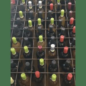 foto wijn wit en rood